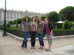 Outside Real Palacio